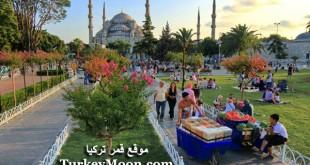 صور جامع السلطان أحمد من الخارج